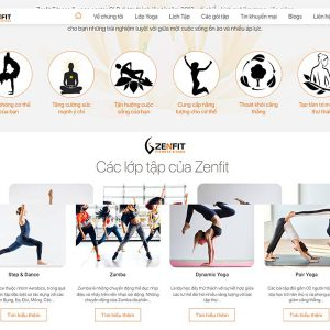 Website Zenfit.com 3